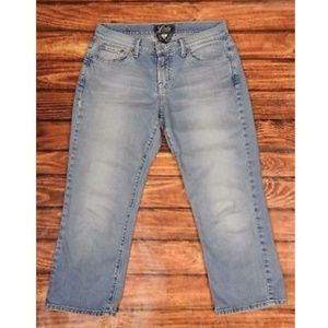 Lucky Brand Classic Rider Crop Jeans 6x28 - 711AB